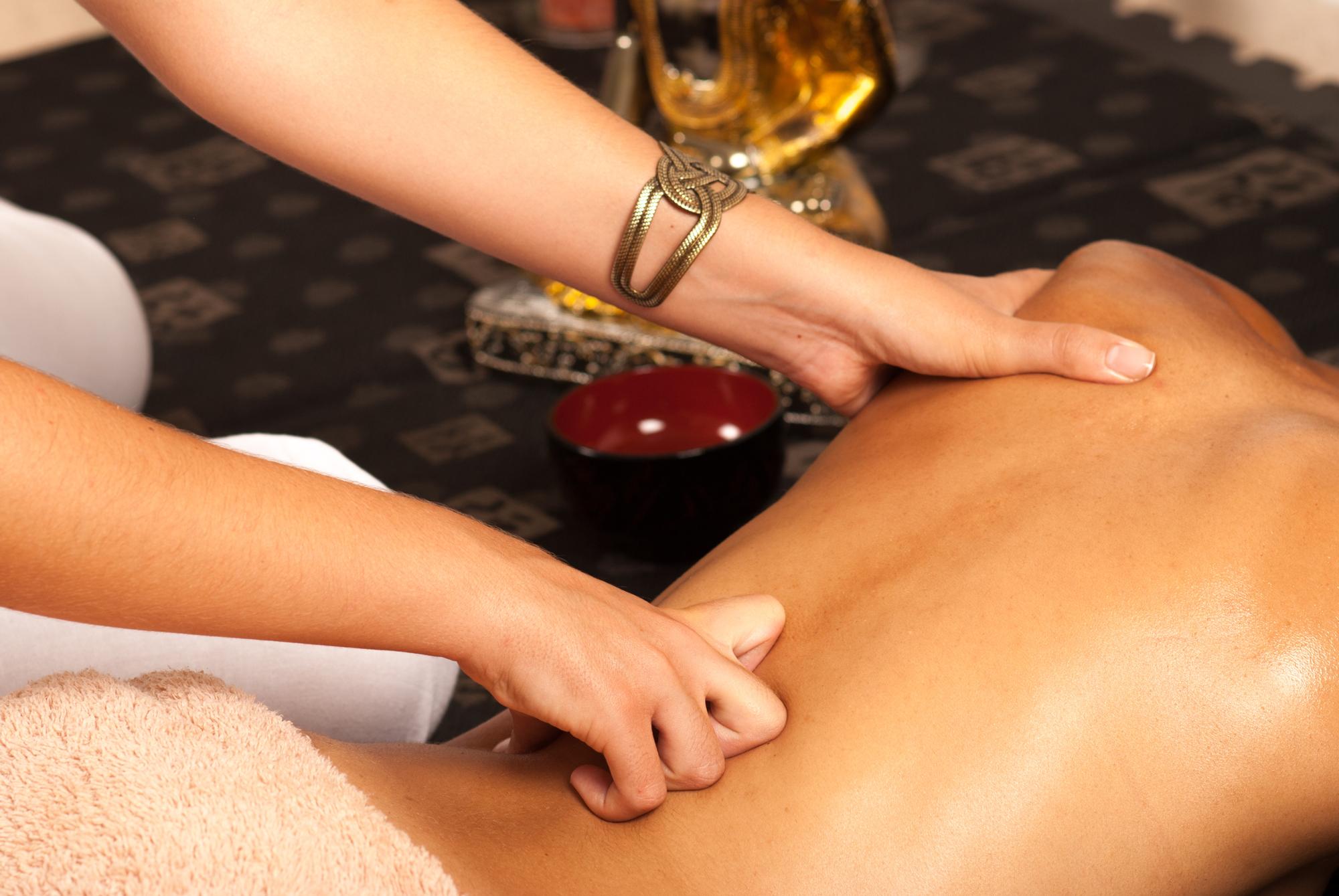 massage aux parfums d'Orient